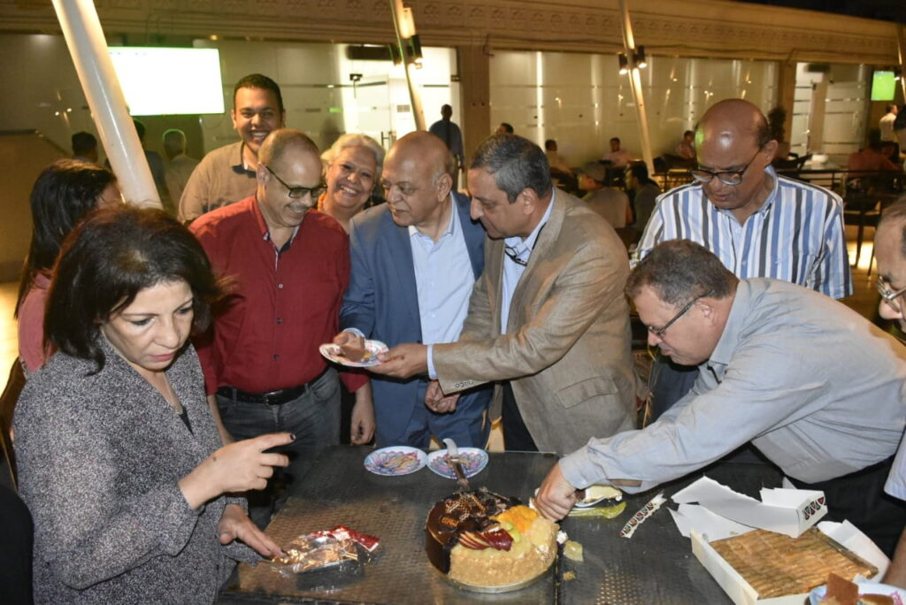 إحتفال خاص بعيد ميلاد الميرغنى ال70 نظمه شباب الصحفيين برعاية الأستاذ يحيي قلاش 2018