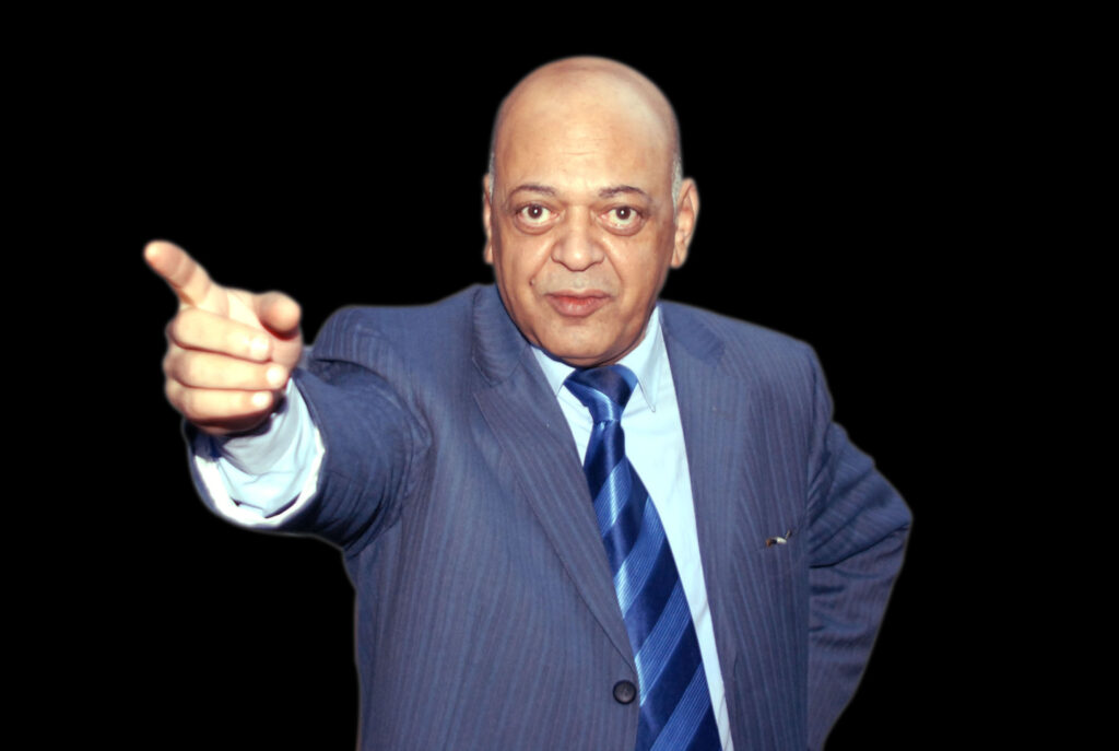الميرغنى صورة ترشحه لمجلس نقابة الصحفيين عام