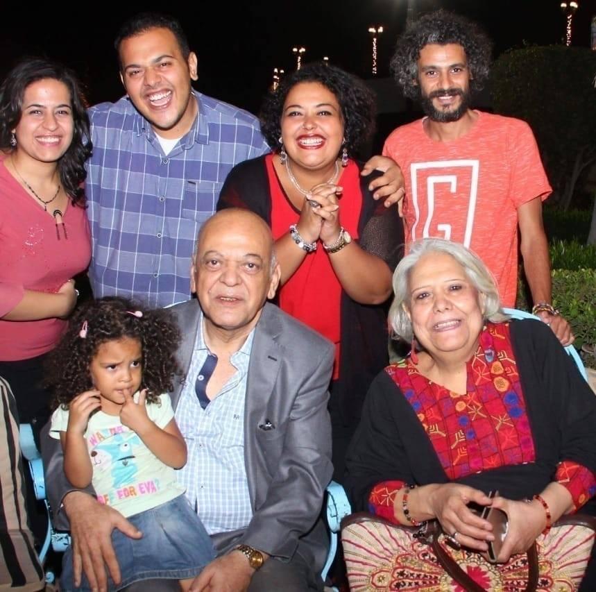 الميرغنى فى إحتفال الأسرة بعيد ميلاده ال 70