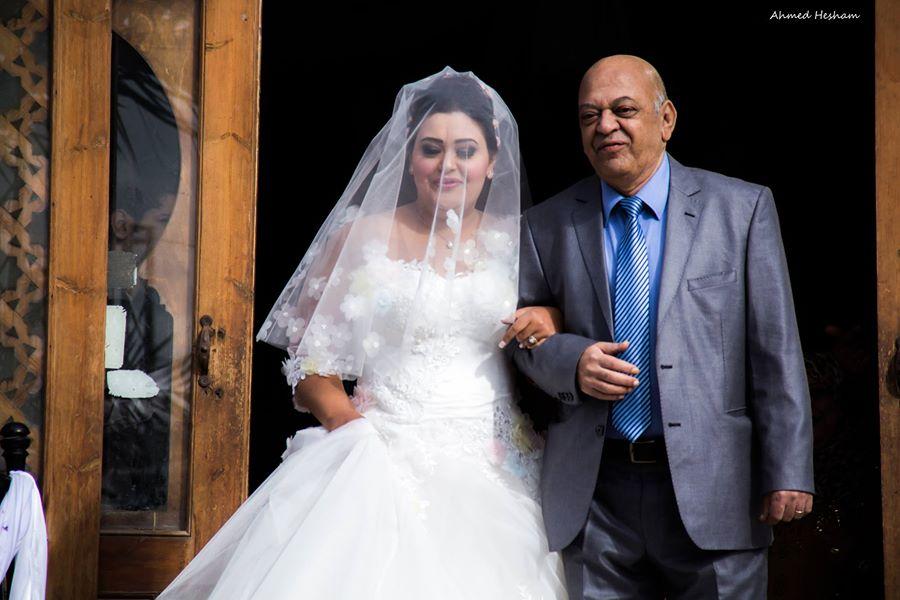الميرغنى فى زفاف إبنته سوسنة 2015