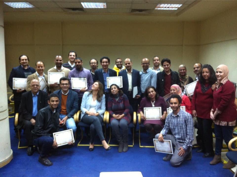 الميرغنى والإحتفال بإنتهاء دورة التنظيم الذاتى للصحفيين