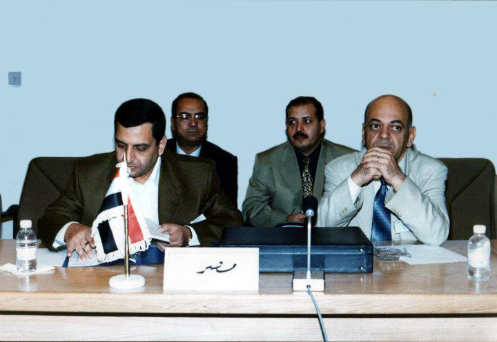 الميرغنى ويحيى قلاش ممثلا نقابة الصحفيين فى المؤتمر الأول للصحافة فى الأردن