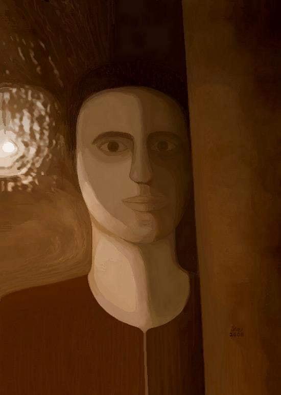 ثقب الضوء .. جرافيك من أعمال رجائى الميرغنى 2008