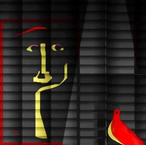 ليلي تنتظر..جرافيك من أعمال رجائي الميرغني 2003