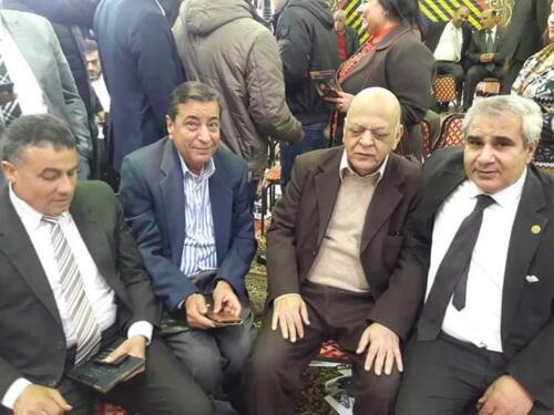 الميرغنى فى إنتخابات نقابة الصحفيين الأخيرة 2019