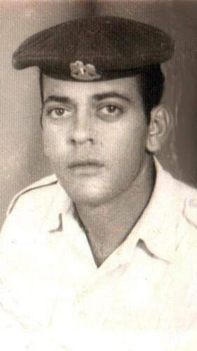 الميرغنى مجندا ومشاركا فى حرب 1973