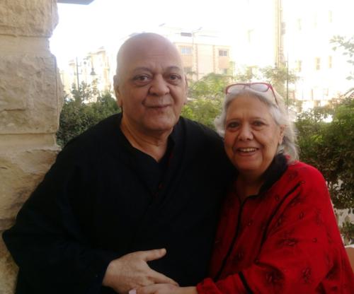 الميرغنى وخيرية شعلان زوجته