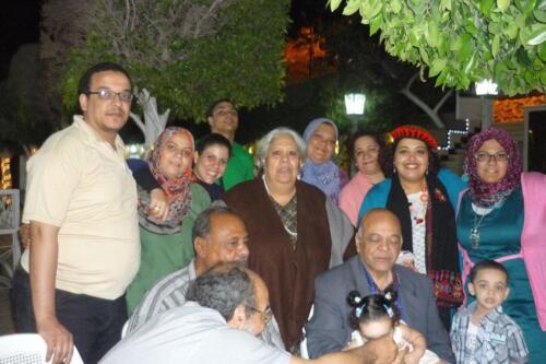 الميرغنى ولقاءات عائلية فى مسقط رأسه محافظة المنيا